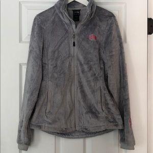 Light Grey North Face Osito Jacket